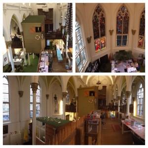 La oficina de KesselsKramer es una iglesia del siglo XIX. Mola mil.